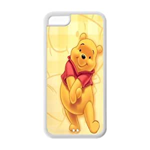 diy phone caseMystic Zone Cartoon Winnie the Pooh ipod touch 5 Back Cover Case for Apple ipod touch 5 -(Black and White) -MZ5C00323diy phone case