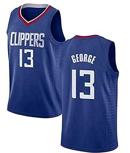 Los Angeles Clippers #13 NBA Basketball-Spieltrikot//Fan-Trikot f/ür Herren Name /& Nummer Jersey T-Shirt Dwin Paul George Trikots S-XXL