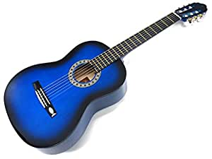 Blue Classic Guitar from Head