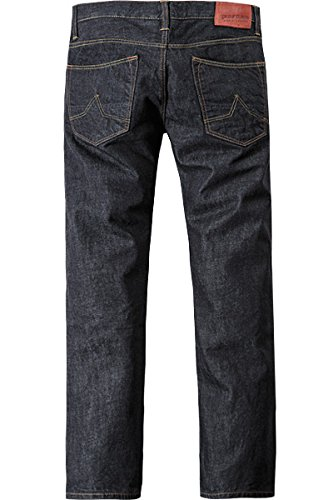gsus sindustries Herren Jeans Baumwolle Denim-Hose Unifarben, Größe: 31/32, Farbe: Blau