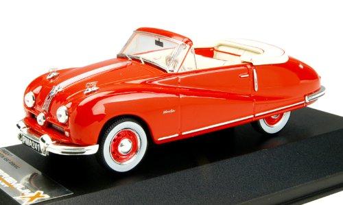 1/43 オースチン A90 アトランティック コンバーチブル 1949 レッド PRD241