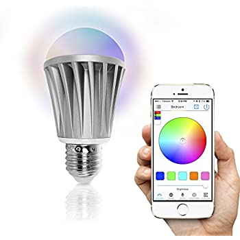 Flux Bluetooth LED Smart Bulb - Wireless Multi Color Changing ...