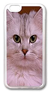 ACESR Cat Face Newest iPhone 6 Cases, TPU Case for Apple iPhone 6 (4.7inch) Transparent