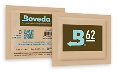 Boveda Medium Humidipak 62% 6 Pack