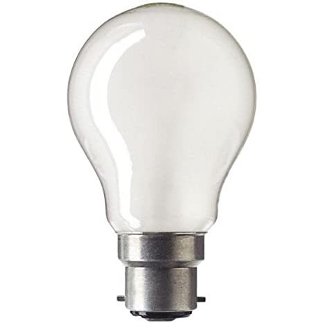 pretty nice d5c1a ecefd 10 X 60W BC Pearl Rough Service GLS Light Bulb Lamp 60 Watt 240v