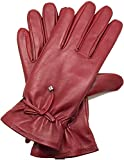 HIAO Soft Pu Gloves Lady Warm Autumn Winter Gloves