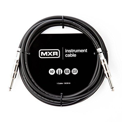 MXR DCIS10 Instrument Cable, 10', Black by MXR