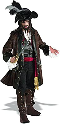 Rubie's Costume Grand Heritage Collection Deluxe Caribbean Pirate Costume