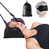 Coobe PRO Hammock for Neck - Portable Hammock for Cervical Traction and Relaxation, Easy to Attach to Any Door or Railing, Ideal for Chronic Neck and Shoulder Pain Relief