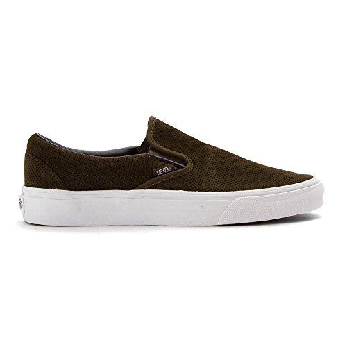 Vans Classic Slip-On, Zapatillas Unisex Adulto Tarmac/True Blanco