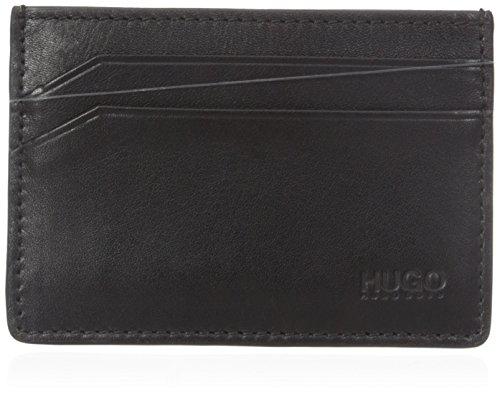 HUGO Hugo Boss Men's Subway 4 Cc Card Holder, black, One - Designer Boss