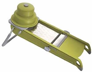 De Buyer Swing Mandoline, green