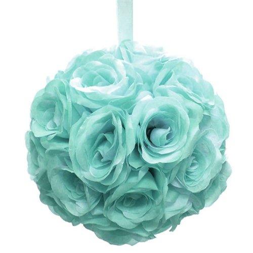 homeford fpf0250229aq Pomander bolas de flores boda centro de mesa, 10', Aqua