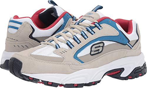 Skechers Men's Stamina Cutback Off-White 12 D US