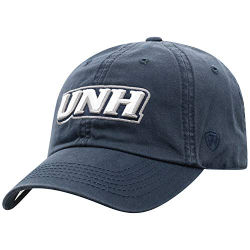 Top of the World New Hampshire Wildcats Men's Hat Icon, Navy, Adjustable (Merchandise University Of Hampshire New)