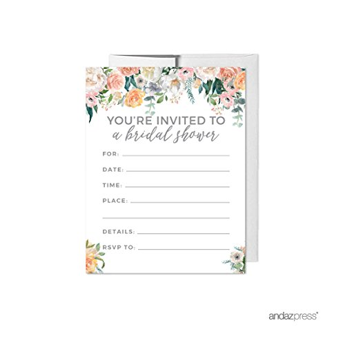 Garden Bridal Shower Invitations - 5