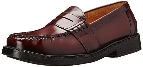 Nunn Bush Men's Lincoln Classic Penny Loafer Slip-On, Burgundy, ()