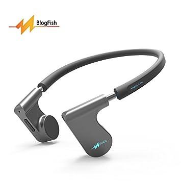 Nuevo Bluetooth conducción ósea auriculares Open-Ear inalámbrico auriculares a prueba de sudor bluetooth 4.1