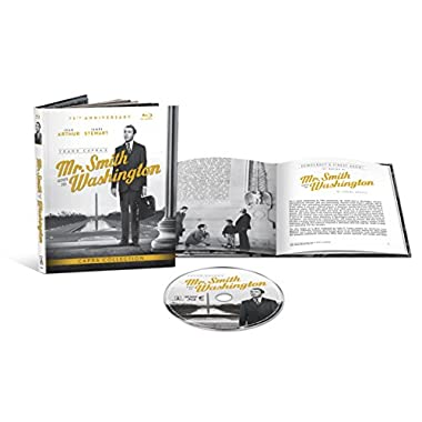 Mr. Smith Goes to Washington (4K-Mastered + UltraViolet + Included Digibook) [Blu-ray]