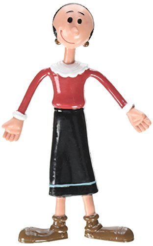 Popeye The Sailor Man, Olive Oyl Bendable Poseable (Sweet Pea Olive Oyl)