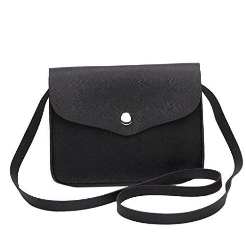 Womens Shoulder Inkach Handbags Black Coin Leather Fashion Bags Messenger Crossbody Purses 5IRqAwR