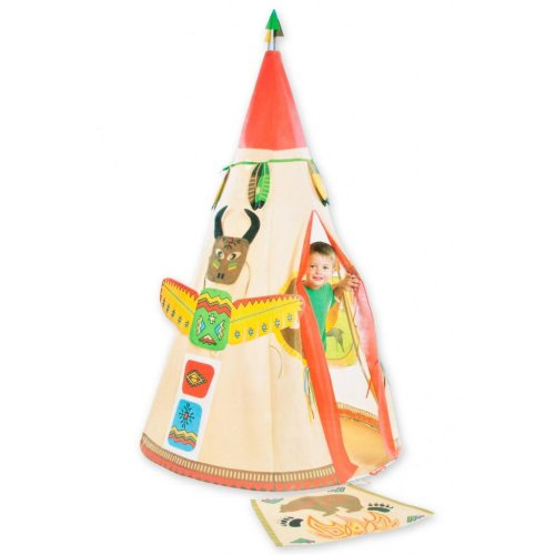 XXL Indianerzelt Tipi Zelt für Kinder ab 3 Jahren