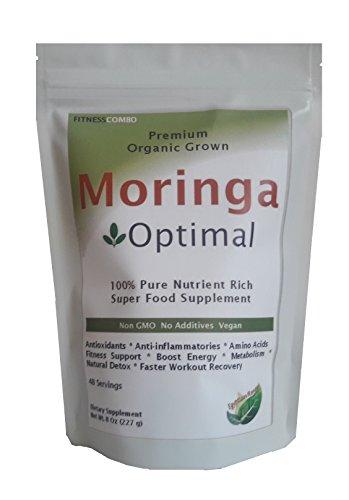Organic Moringa Optimal Powder Supplement product image