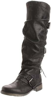 Boutique 9 Women's Marl Knee-High Boot,Black,11 M US