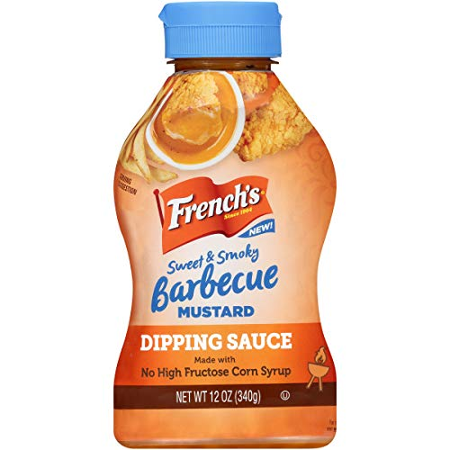 (French's Sweet & Smoky Barbecue Mustard Dipping Sauce, 12 fl oz)