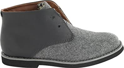 Toddler//Little Kid//Big Kid Florsheim Kids Doon Laceless Chukka JR Pull-On Boot K Florsheim Kids Footwear Doon Laceless Chukka Jr