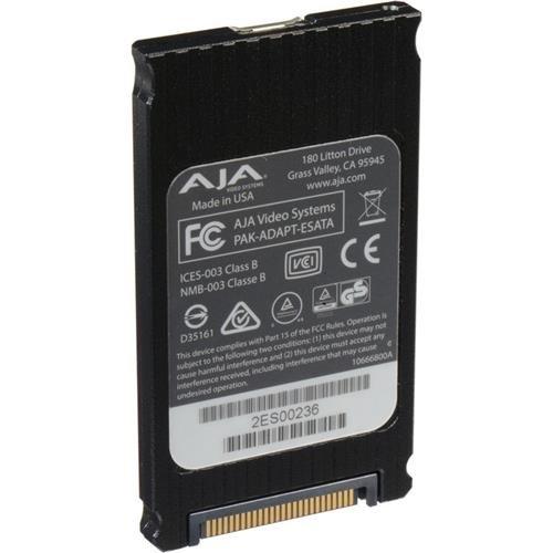 AJA Pak Media Adapter for eSATA storage