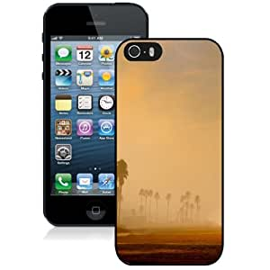 Personalized Phone Case Design with Los Angeles Morning Beach iPhone 5s Wallpaper