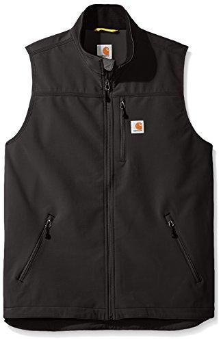 Carhartt Big and Tall Men's Big & Tall Denwood Vest, Black, 3X-Large