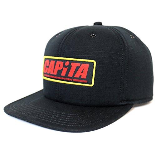 Capita Factory Cap Black (Capita Hat)