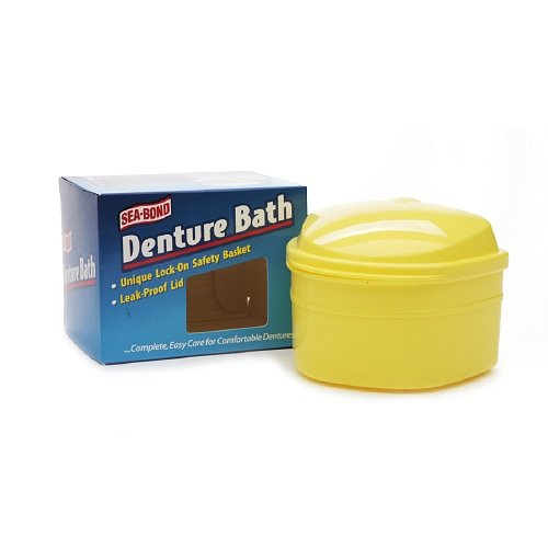 Sea Bond Denture Bath (Sea-Bond Denture Bath 1 ea)