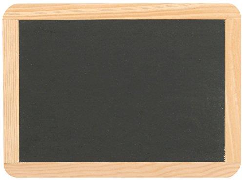 Schiefertafel 22 x 29 cm mit Naturholzrahmen