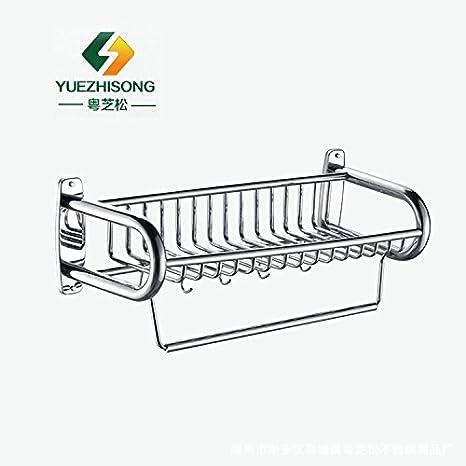 Accesorios de baño Yomiokla - Toalla de metal para cocina, inodoro, balcón y bañoAnillo