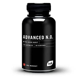 Advanced N.O.   Nitric Oxide Boost   Most Comprehensive Pre-Workout
