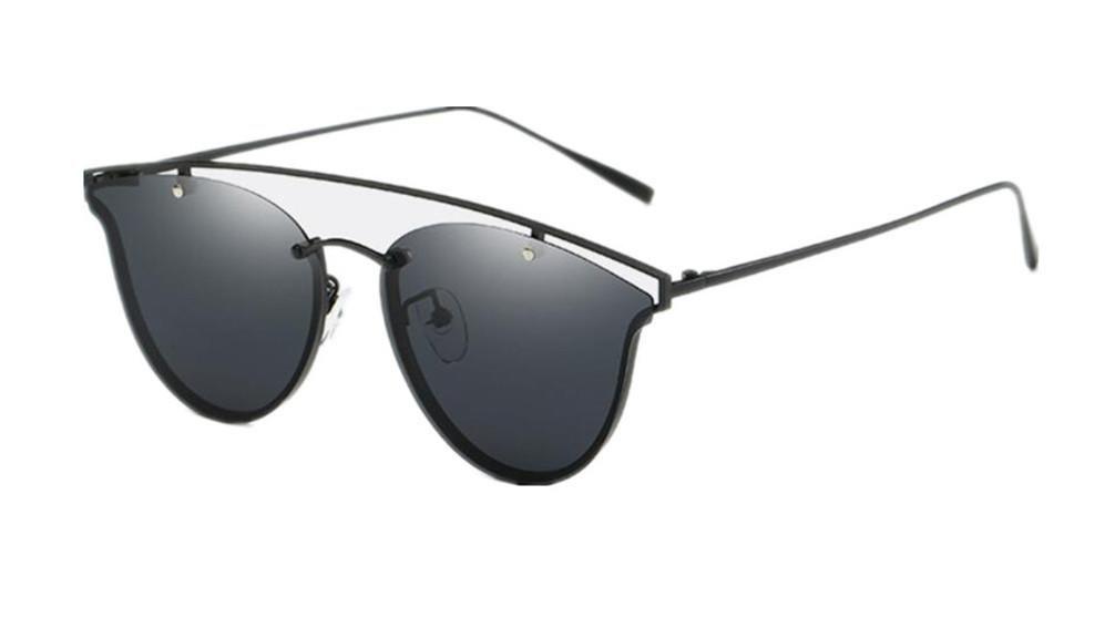 ZHLONG Men es polarisierte Sonnenbrille UV Brille klassische Frosch Spiegel , 2