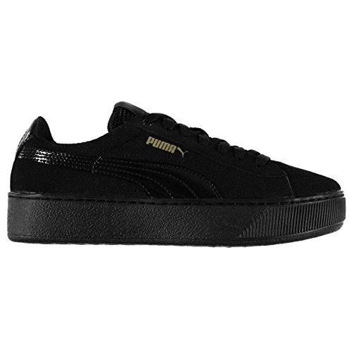 Baskets pour plate Officiel Vikky Sports Baskets Chaussures Sneakers forme Noir femme Puma wv7vaqR