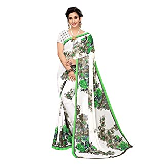 41bOhGNkuUL. SS320 ANNI DESIGNER Georgette Saree with Blouse Piece
