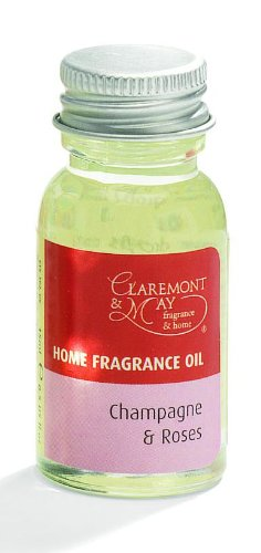 17e606738d Claremont & May Home Fragrance Oil - Champagne & Roses 15ml: Amazon.co.uk:  Kitchen & Home