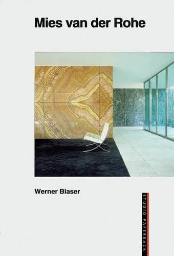 Mies van der Rohe (Studio Paperback)