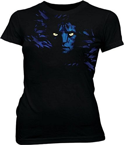The Avatar Jake Sully Shadow Face Black Juniors/Ladies T-shirt Tee (Large) (James Cameron Avatar The Game Activation Key)