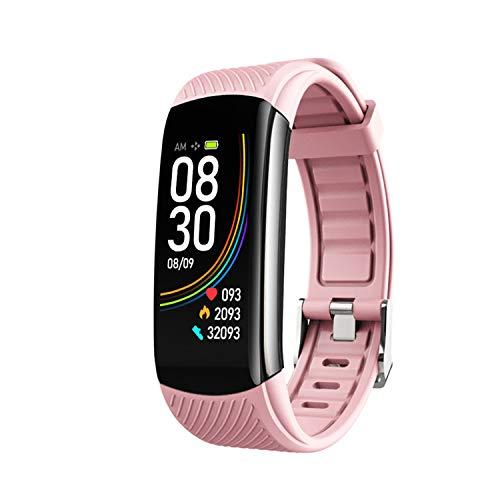 HQHOME Fitness Armband Fitness Tracker wasserdichter IP68 Schrittzähler Aktivitäts-Tracker für Herzfrequenzmonitor mit…