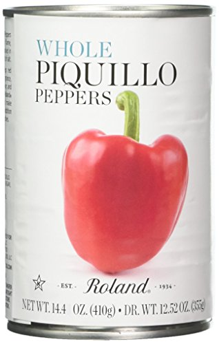 (Roland Piquillo Peppers, Whole, 14.4 Ounce (Pack of 4))