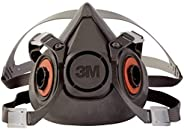 3M - 51131070264 Half Facepiece Reusable Respirator 6300, Gases, Vapors, Dust, Paint, Cleaning, Grinding, Sawi
