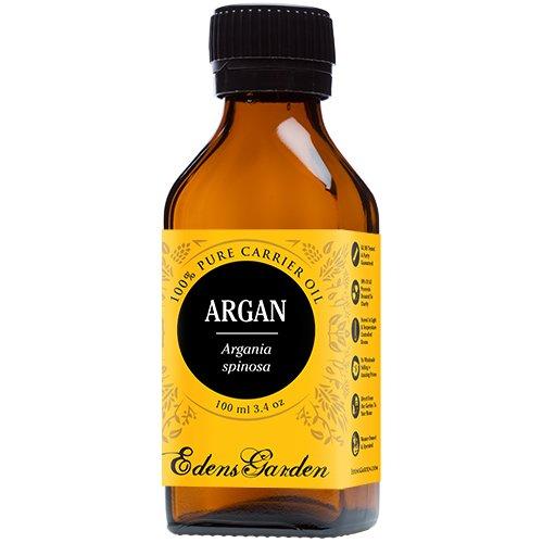 Argan 100% Pure Carrier/ Base Oil- 3.4 oz (100 ml) by Edens Garden