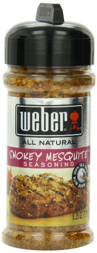 Weber Mesquite Wood (Weber Grill Seasoning Smoky Mesquite, 6 Ounce (Pack of 4))