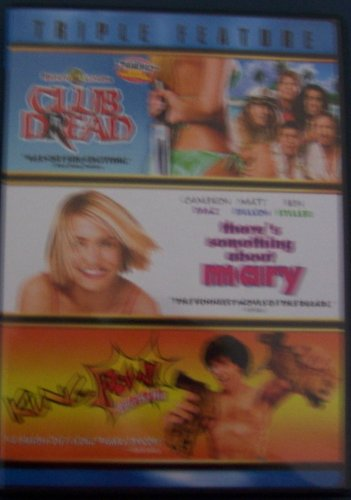 Triple Feature/ Club Dread/There's Something About Mary/Kung Pow